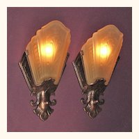 5 Virden Slip Shade Sconces