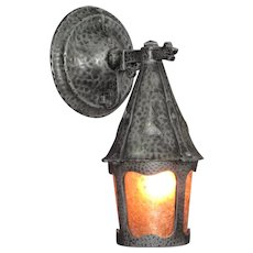 1930s Vintage Dogs Head Porch Lights 8 available