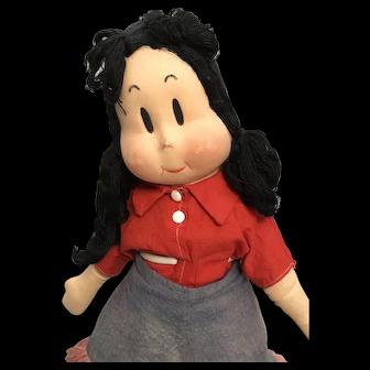 Rare Georgene Averill Cowgirl Little Lulu