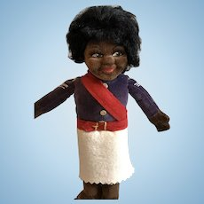 Black Norah Wellings African Military Cloth Doll