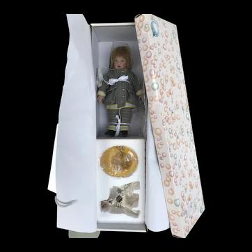 Helen Kish Riley DJ Fireman Original Box and Accessories