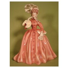 Vivian porcelain figurine by Florence Ceramics California Gone with the Wind - Red Tag Sale Item