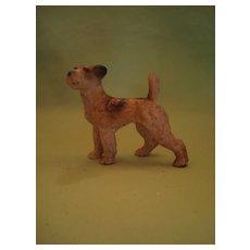 Vintage Hubley Iron Terrier West Point