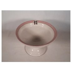 Wonderful HC Porcelain Compote Union Porcelain Works