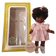 Effanbee Black Sissy & Jane One World Collection Original tag and Box African American