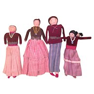 Navajo Vintage Handmade Cloth Doll Collection