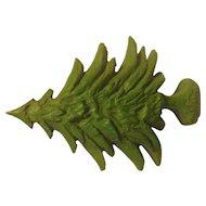 Vintage Boy Scout Pine Tree Neckerchief Slide NEAL SLIDE