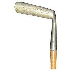 Wonderful Hickory Shaft Ernest Way S6 Monel Putter