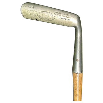 Wonderful Hickory Shaft Ernest Way S6 Monel Putter