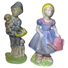 Wade Whimsies Large Nursery Rhymes Mary Mary Little Boy Blue