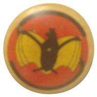 Kellogg's PEP Pin Bat Navy Cruiser Scouting Squadron 2