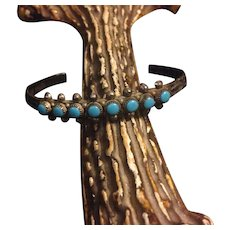 Vintage Bell Trading Post Turquoise Indian Bracelet