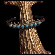 Vintage Bell Trading Post Turquoise Indian Bracelet