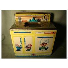 Vintage Wolverine Snow White Doc Happy & Dopey sink + dishwasher