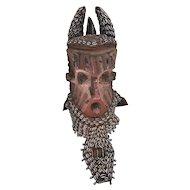 African Kuba Helmet Mask