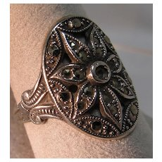Sterling Marcasite Ring