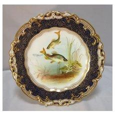 George Jones Porcelain Cabinet Plate