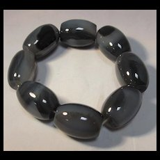 Shadow Agate Bracelet
