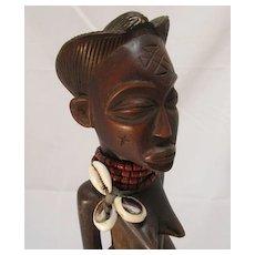 African Chokwe Maternity Figure  Angola