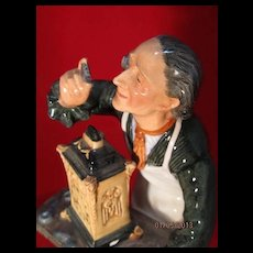 Royal Doulton Figurine The Clockmaker