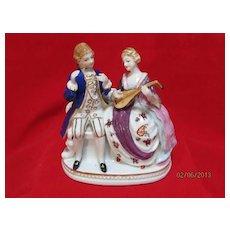 Porcelain Figurine by Maruyama of a couple
