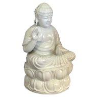 Antique Chinese Blanc De Chine Buddha