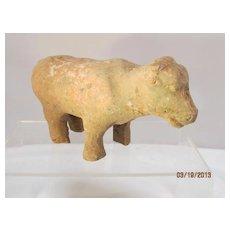 Han Dynasty Pottery Cow