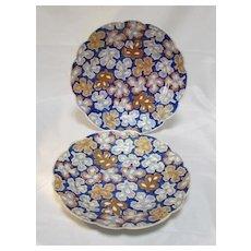 Pr Japanese Foliate Plates