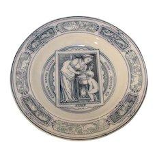 Antique Wedgwood Health Soup Bowl 1877