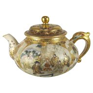 Meiji Period Japanese Satsuma Teapot