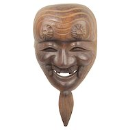 Old Japanese Noh Mask