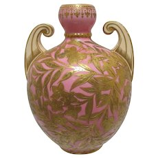 Antique Royal Crown Derby Cabinet Vase