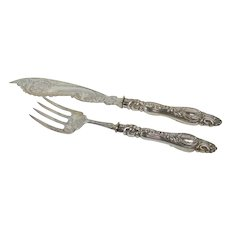 Antique English  Sterling Servers
