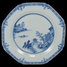Chinese Export 18th Century Plate