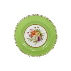 19th Century Royal Crown Derby Cabinet Plate