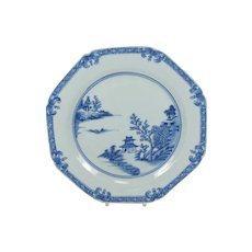 Chinese 18th Century Porcelain Plate