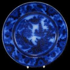 Antique Flo Blue Baker & Co Plate