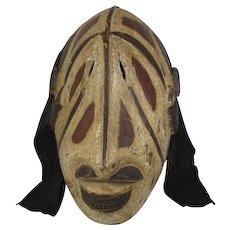 African  Wood Mask Igbo Tribe