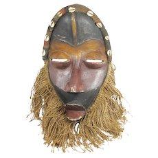African Tribal Mask Dan