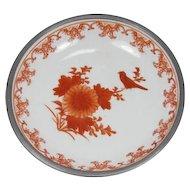 Chinese Bowl Porcelain/Pewter