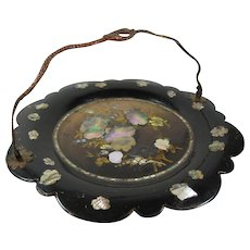 Papier Mache Tray by Jennens & Bettridge