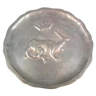 Pewter Plate French
