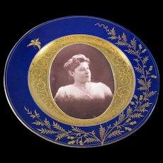 Royal Vienna Photograph Plate
