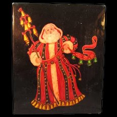 St Nicholas Lacquer box from Russia