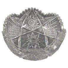 Brilliant Cut Crystal Bowl
