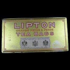 Lipton Tea Tin