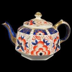Antique Gaudy Dutch Tea Pot