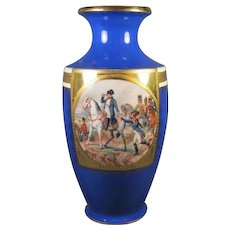 Napoleon Porcelain Continental  Vase