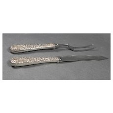 S. Kirk Sons Sterling Carving Set