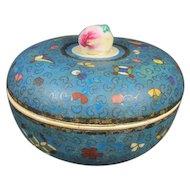 Antique Japanese cloisonne Box
